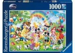 Puzzle 1000 elementów Urodziny Mickey