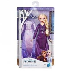 Hasbro Lalka Elsa z 2 kreacjami, Kraina Lodu 2 (Frozen 2)