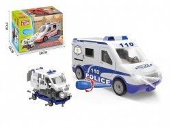 Brimarex Pojazd DIY Ambulans, Policja do skręcania MIX