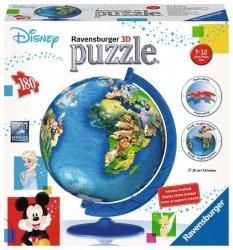 Ravensburger Puzzle 180 Elementów 3D Globus Disney
