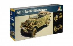 Italeri Model plastikowy WWII German Typ 8 KUBELWAGEN
