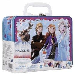 Puzzle 2x 48 elementów Cardinal Games w kuferku, Frozen 2