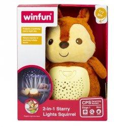 Smily Lampka nocna Projektor Wiewiórka