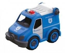 Samochód Policja do skręcania