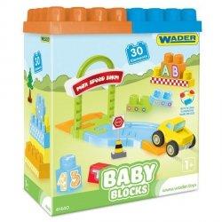 Wader Baby Blocks Klocki 30 el.