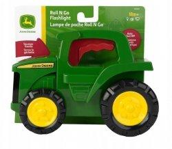 Tomy Pojazd John Deere traktor latarka z dźwiękiem