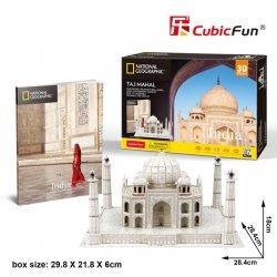 Cubicfun Puzzle 3D Taj Mahal National Geographic