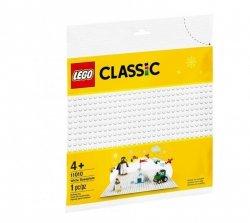 LEGO Klocki Classic Biała płytka konstrukcyjna