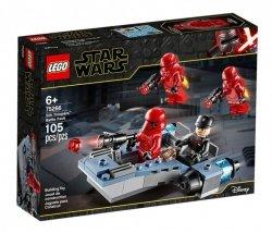 LEGO Klocki Star Wars Zestaw bitewny żołnierzy Sithow