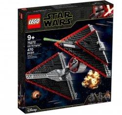 LEGO Klocki Star Wars Myśliwiec TIE Sithow