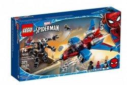 LEGO Klocki Super Heroes Pajęczy odrzutowiec kontra mech Venoma