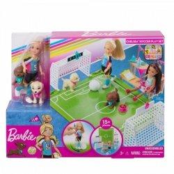 Mattel Lalka Barbie Chelsea Boisko do piłki nożnej zestaw