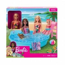 Mattel Lalka Barbie + Basen