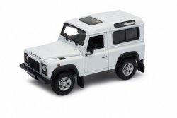 Welly Model kolekcjonerski Land Rover Defender, biały