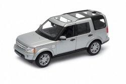 Welly Model kolekcjonerski Land Rover Discovry 4, srebrny