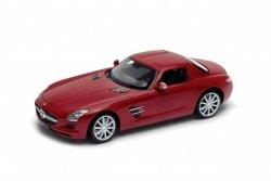 Welly Model kolekcjonerski Mercedes-Benz SLS AMG czerwony