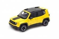 Welly Model kolekcjonerski Jeep Renegade Trailhawk żółty