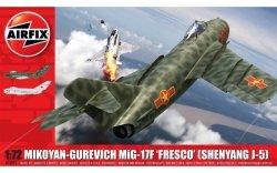 Airfix Model plastikowy Mikoyan-Gurevich MiG-17 Fresco