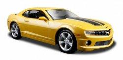 Maisto Model metalowy Chevrolet Camaro SS żółty 1:24