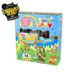 TUBAN Zestaw Tubi Jelly 3 kolory - Zwierzątka