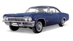 Welly Samochód Chevrolet Impala S S396 1965niebieski