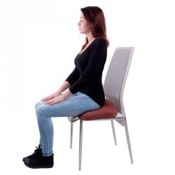 Poduszka do siedzenia pompowana inSPORTline P10 Kolor Brown