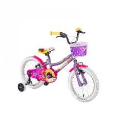 """Rower dziecięcy DHS Daisy 1404 14"""" - model 2019 Kolor Różowy"""