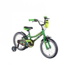 """Rower dziecięcy DHS Speedy 1603 16"""" - model 2019 Kolor Niebieski"""
