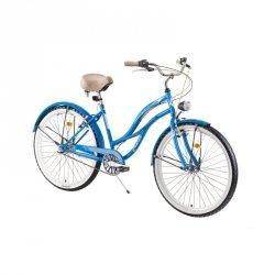 "Damski rower miejski DHS Cruiser 2698 26 ""- model 2019 Kolor Niebieski"