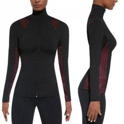 Damska sportowa koszulka BAS BLACK Inspire Blouse Kolor Czarno-różowy, Rozmiar L