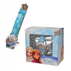Zegarek na rękę w pudełku prezentowym Frozen - Kraina Lodu 01