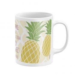 Kubek ceramiczny Zaska - Ananas 03