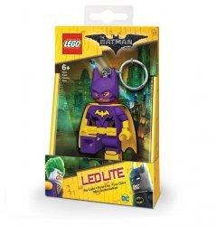 Brelok do kluczy z latarką - Lego Batman Movie Batgirl