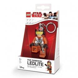 Brelok do kluczy z latarką – Lego Star Wars Poe Dameron