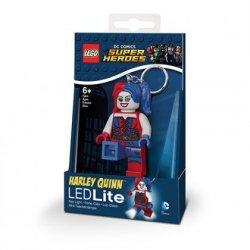 Brelok do kluczy z latarką Lego Batman Movie – Harley Quinn