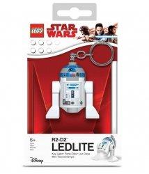 Brelok do kluczy z latarką Lego Star Wars – R2D2