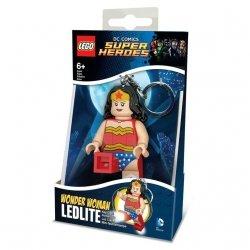 Brelok do kluczy z latarką Lego Super Heros Wonder Woman