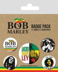 Przypinki Bob Marley