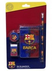 Zestaw szkolny 4 el. FC Barcelona
