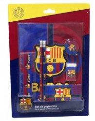 Zestaw szkolny 7 el. FC Barcelona