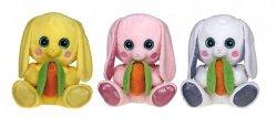 Maskotka królik 41 cm - wzór do wyboru