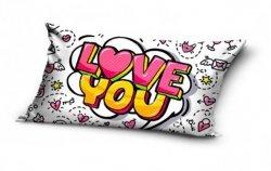 Poduszka Love You 30x60 cm