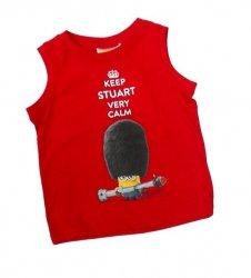 Koszulka na ramiączkach Minionki : Rozmiar: - 116