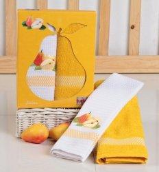 Ręcznik Bawełniany Frutta Żółt. 2x 50x70 Kpl.
