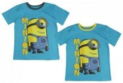 T-shirt Minionki : Rozmiar: - 116