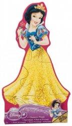Puzzle drewniane Królewna Śnieżka - Księżniczki