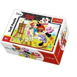 Puzzle 54 elementowe Myszka Mickey