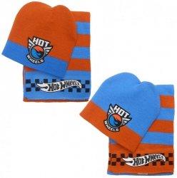Komplet: czapka jesienna / zimowa i szalik Hot Wheels : Rozmiar: - 54 cm