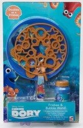 Frisbee + bańki mydlane Gdzie jest Dory?