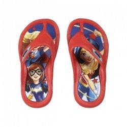 Klapki, japonki Superhero girls : Rozmiar: - 32/33
